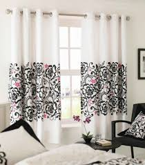 interesting interior window curtain for window decoration engaging black and pink living room decoration using