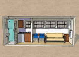 Single Shipping Container Homes Interior Container House Design - Container house interior