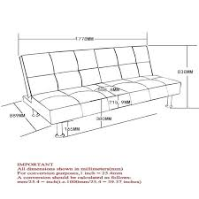 standard sofa dimensions in mm within average couch height plan 15
