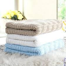 stroller air conditioner summer cotton knit baby bedding set wool air conditioning blanket wrapped blanket baby