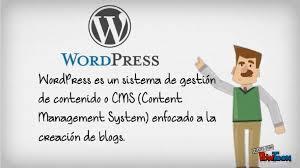 que es wordpress definicion