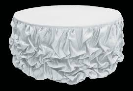 table skirt round table skirts