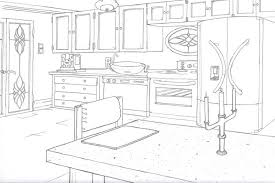 simple kitchen drawing. Kitchen Drawing | Simple H
