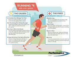 running with shin splints performance