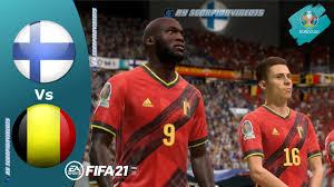 FIFA 21, EURO 2020 • Finlandia vs Belgio