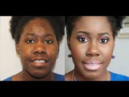 how to cover dark spots and hyperpigmentation with omolewa makeup