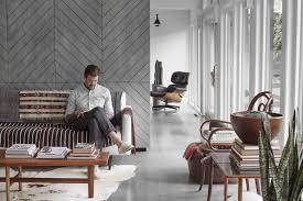 Living Room Furniture Kansas City Inside Designer Matt Baldwins Mid Century Kansas City Home Photos