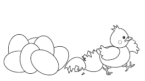 Chicken Coloring C Is For Chicken Coloring Page Momchilovtsiinfo