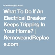 the 25 best electrical breakers ideas on pinterest electrical main trip switch keeps tripping at Fuse Box Breaker Keeps Tripping