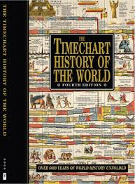 The Wall Chart Of World History Book The Timechart History Of The World Over 6000 Years Of World