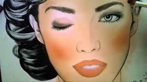Face Chart Bridal Color Combo By Elanoir
