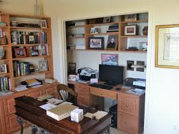 home office in a closet. Closet-stretchers-home-office-photo-1 Home Office In A Closet C