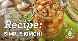 Simple Kimchi Recipe Cultures For Health