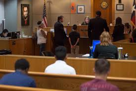 Is tracked by teen court