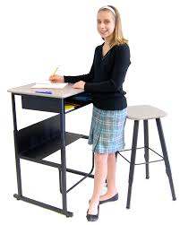 new standing desk created to improve students academic achievement and physical fitness