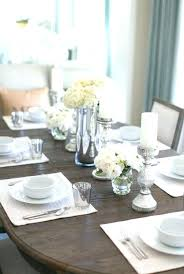 glass dining table centerpiece ideas wine decoration