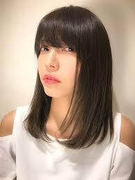 大人女子必見かわいい黒髪ヘアカタログでヘアスタイルを更新 Arine