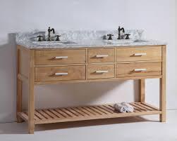 wood bathroom vanity. Beautiful Natural Wood Bathroom Vanity .