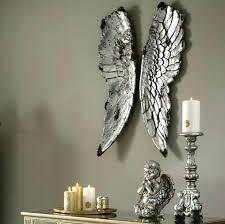 angel wing wall art angel wings wall art large silver angel wings for wall art candle angel wing wall art