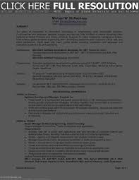 Resume Format For 1 Year Experience Dot Net Developer Resume Template