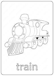 Train coloring pages are available in a wide range of varieties including cartoon train coloring pages for kids and realistic train coloring sheets for adults. Printable Train Coloring Page Book Pdf