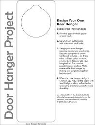 Design Your Own Door Hanger