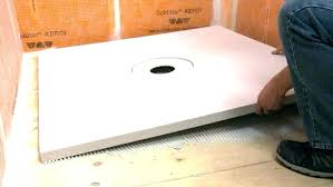 full size of schluter shower pan system kerdi board bench on concrete curb bathrooms enchanting extending