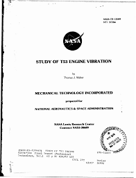 STUDY OF T53 ENGINE MBRAnON