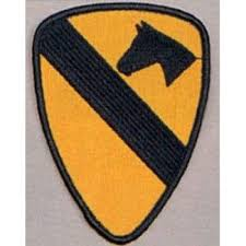 Us Army Cavalry Us Army 1st Cavalry Division Patch