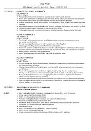 Supervisor Resume Samples Plant Supervisor Resume Samples Velvet Jobs 9