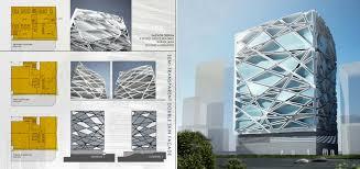 office facade. Facade Design For Office Building P