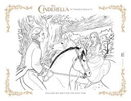 Small Picture Free Coloring Pages Cinderella