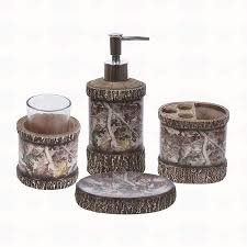 gorgeous camo bathroom sets for chic look