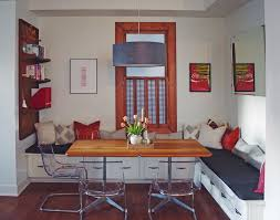 home office in dining room. Double Duty Dining Room Home Office In
