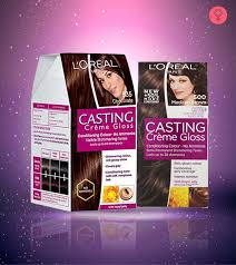 Purple Pack Hair Color Chart Loreal Paris Casting Creme Gloss Hair Color Review And Shades