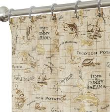 nautical shower curtains map 84