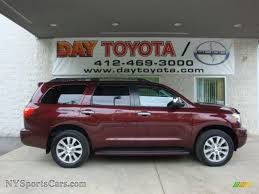 2010 Toyota Sequoia Limited 4WD in Cassis Red Pearl - 025515 ...