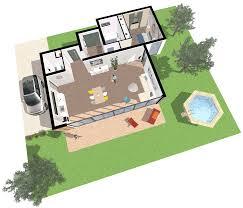 3d floor plan made on space designer 3d
