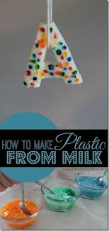 best science chemistry ideas chemistry what is  did you know you can make plastic milk science experiment