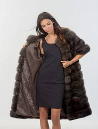 dark skin sable fur coat dark skin sable fur coat