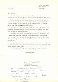 Teacher Resignation Letter Mid Year Cover Letter Example