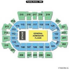 Rational St Louis Family Arena Seating Chart 2019
