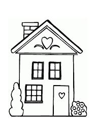 Pin Van Deirdre P Op Clipart Cartoon House House Outline En House