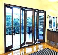 bifold glass doors accordion crosstown custom shade come folding frameless cost exterio