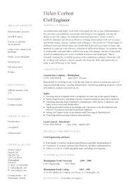 Civil Engineer Resume Example Civil Engineer Resume Format