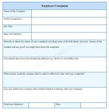 Employee Grievance Form - April.onthemarch.co
