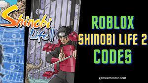 Shindo life codes   how to redeem? Roblox Shinobi Life 2 Codes Shindo Life June 2021