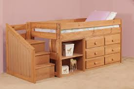 junior bunk bed with stairs drawer