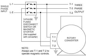 rotary phase converters by phase a matic rotary phase converter connection diagram