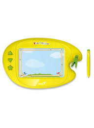 Genius Kids Designer Shop Genius Kids Designer Ii Graphic Tablet For Kids Yellow